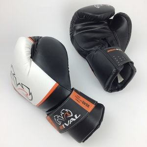 Rival Accessories - Rival L Boxing Evolution RB40 Bag Gloves White